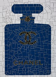 Bleu De Chanel by David Arnott - Original Mosaic sized 20x28 inches. Available from Whitewall Galleries